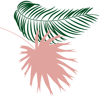 a second palm tree decoration