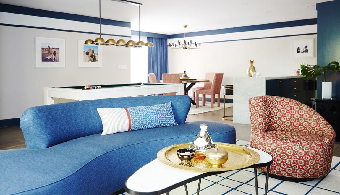 Sands Hotel Le Riad Interior Shot