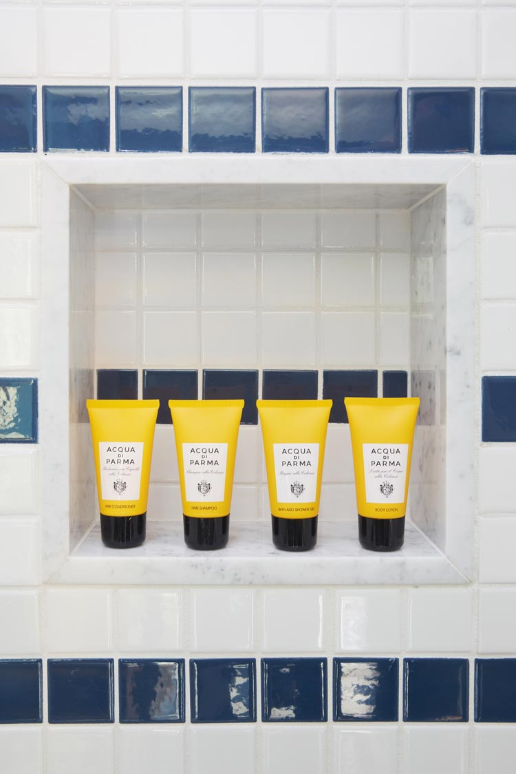 sands hotel acqua di parma amenities